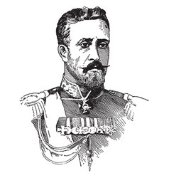 The grand duke nicholas vintage vector