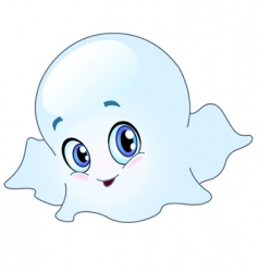 baby ghost vector image