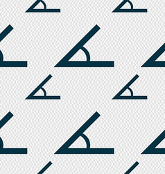 Angle 45 degrees icon sign seamless pattern with vector