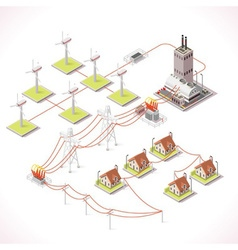 Energy 12 infographic isometric vector