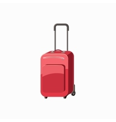 Travel luggage icon cartoon style vector