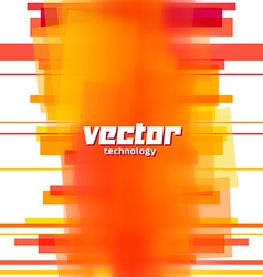 background with orange blurred lines vector image vector image