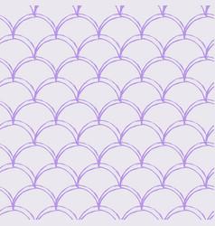 Mermaid scale seamless pattern vector