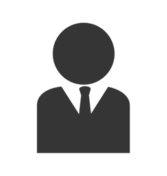 Man suit business icon graphic vector