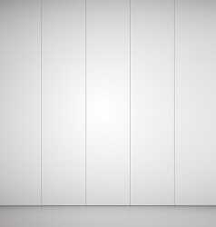 Empty room grey background for goods vector