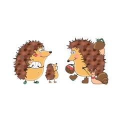 Hedgehogs vector