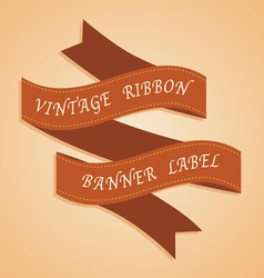 Ribbon vector
