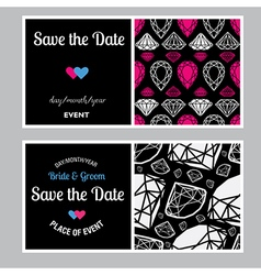 Save the date 07 vector image