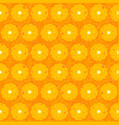 Orange fruit seamless pattern texture vector
