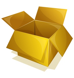 Yellow box vector