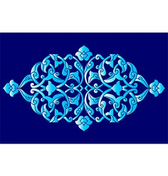 Artistic ottoman pattern series sixty one vector
