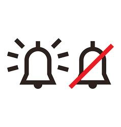 Alarm icon vector