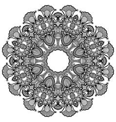 geometric doily pattern vector image