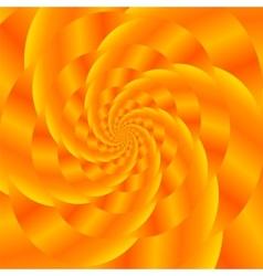 Gold spiral background fractal pattern vector