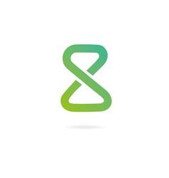 letter s logo design template elements symbol of vector image