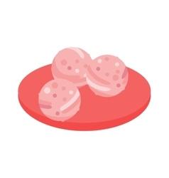 Meatballs vector