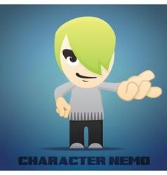 Cartoon Character Nemo vector image