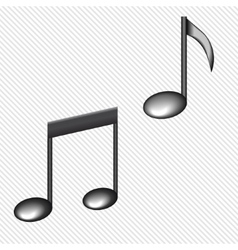 A black notes isolated on white vector