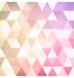 Abstract defocused triangle background vector