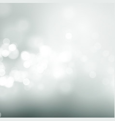 abstract gray circular bokeh background vector image