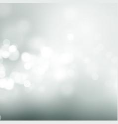 Abstract gray circular bokeh background vector
