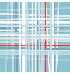 Crossed stripes vector image vector image