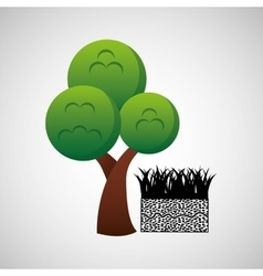 ecololgy green concept vector image