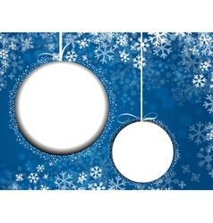 New Year and Christmas vector image vector image