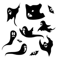 Horror Set for Halloween vector image