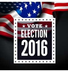 Presidential election in USA vector image