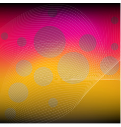 Abstract background with circle vector