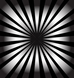 White rays on black background abstract background vector