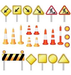 road set vector image
