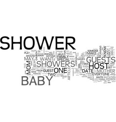Baby skin care products text word cloud concept vector