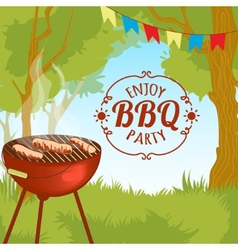 Barbecue grill eps10 vector