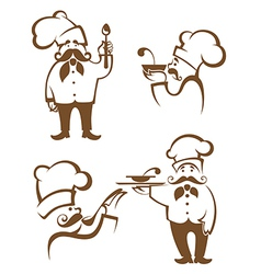 chef collection vector image