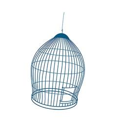 icon cage vector image vector image