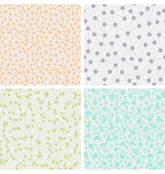 Seamless dotted background vector
