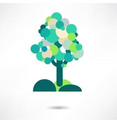 tree emblem 2 vector image