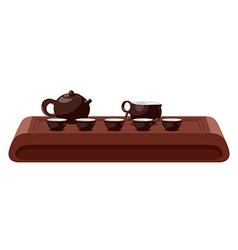 Tea ceremony vector image