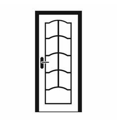 Door icon in simple style vector image vector image