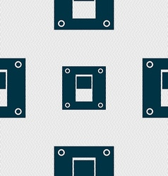 Power switch icon sign seamless abstract vector