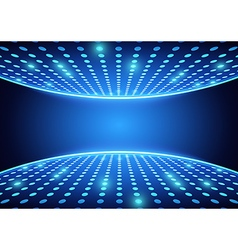 Blue spotlights background vector