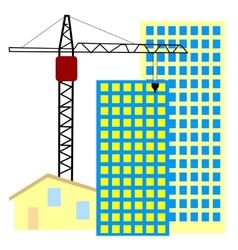 building and home vector image vector image