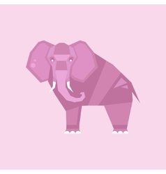 Elephant stylized vector