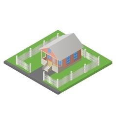 House isometric 3d vector