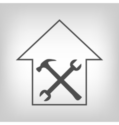 House repair sign vector image vector image