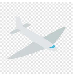 passenger plane isometric icon vector image vector image