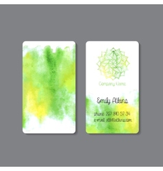 Business Card 3 vector image