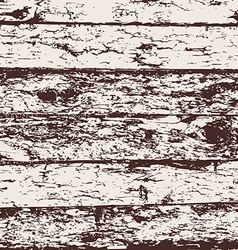 Wood fence grunge background brown and white pine vector